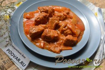 Свинина в томатно-сметанном соусе Шаг 11 (картинка)