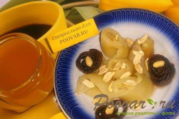 Запечённый перец с мёдом и орехами Изображение
