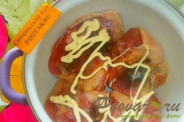 Куриные бёдра с майонезом Шаг 4 (картинка)