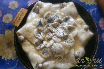 Пирог со сливой, орехами и изюмом Шаг 13 (картинка)