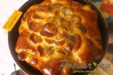 Пирог со сливой, орехами и изюмом Шаг 15 (картинка)