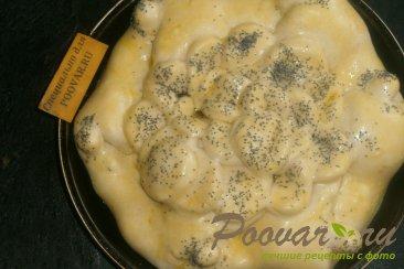 Пирог со сливой, орехами и изюмом Шаг 14 (картинка)
