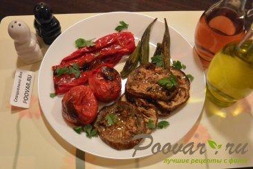 Бамия с овощами запеченная в духовке Изображение
