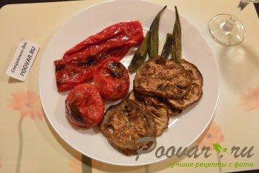 Бамия с овощами запеченная в духовке Шаг 5 (картинка)