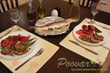 Бамия с овощами запеченная в духовке Шаг 7 (картинка)