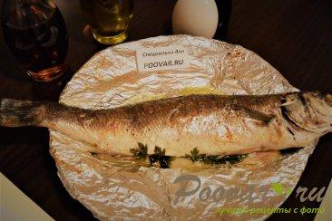 Сибас (лаврак) запеченный в духовке Шаг 6 (картинка)