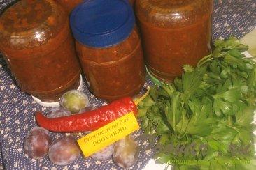 Сливовый соус на зиму Шаг 9 (картинка)
