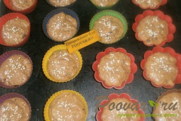 Кексы со сливой Шаг 11 (картинка)