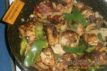Курица с перцем и луком Шаг 11 (картинка)