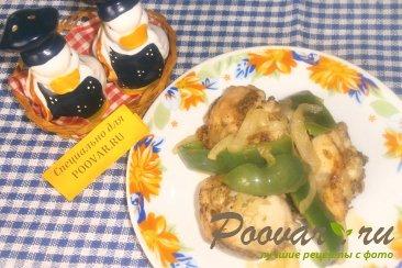 Курица с перцем и луком Шаг 12 (картинка)
