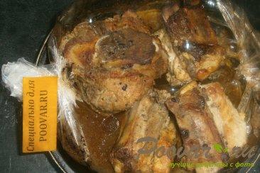 Свиные рёбрышки в рукаве в смородиновом сиропе Шаг 6 (картинка)