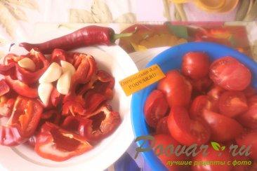 Сырая аджика из помидоров на зиму Шаг 1 (картинка)