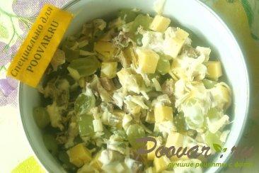 Салат из курицы и винограда Шаг 8 (картинка)