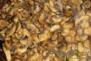 Кальцоне с грибами и маринованными огурцами Шаг 6 (картинка)