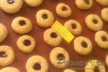 Творожное печенье с бананом Шаг 10 (картинка)