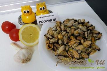 Жареные мидии с лимоном и чесноком Шаг 1 (картинка)