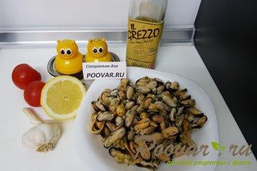 Жареные мидии с лимоном и чесноком Шаг 2 (картинка)