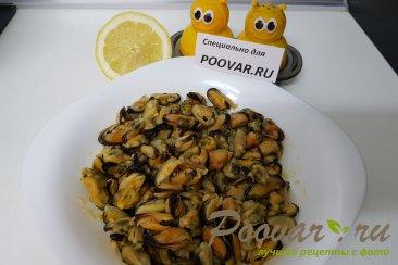 Жареные мидии с лимоном и чесноком Шаг 6 (картинка)