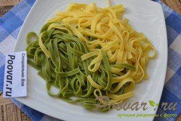 Креветки в сливочно-чесночном соусе с пастой Шаг 8 (картинка)