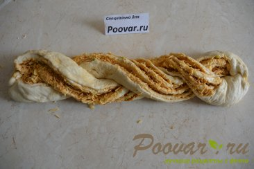 Хлеб-багет с сыром и чесноком Шаг 8 (картинка)