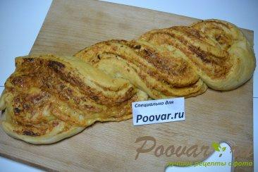 Хлеб-багет с сыром и чесноком Шаг 9 (картинка)