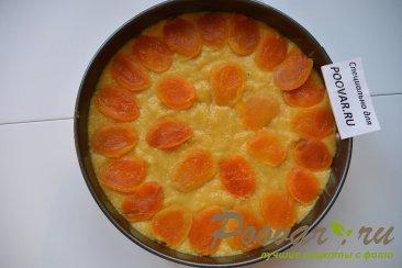 Пирог с миндальной и кукурузной муки с курагой Шаг 10 (картинка)