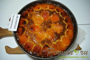 Пирог с миндальной и кукурузной муки с курагой Шаг 12 (картинка)