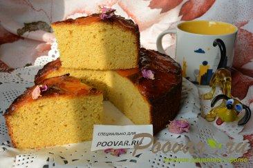 Пирог с миндальной и кукурузной муки с курагой Шаг 14 (картинка)