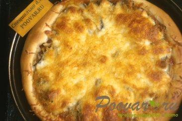 Пицца с луком и маринованными огурцами Шаг 16 (картинка)