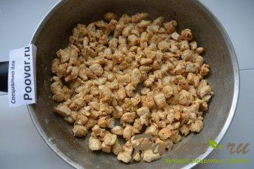 Жульен с курицей грибами и сливками Шаг 7 (картинка)