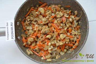 Куриные грудки фаршированные грибами в сливках Шаг 5 (картинка)