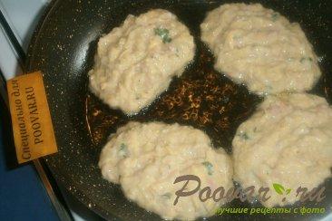Картофельные драники с ветчиной и сыром Шаг 9 (картинка)