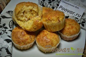 Сырные кексы с пастромой Изображение