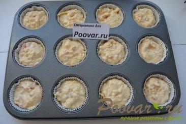 Сырные кексы с пастромой Шаг 7 (картинка)