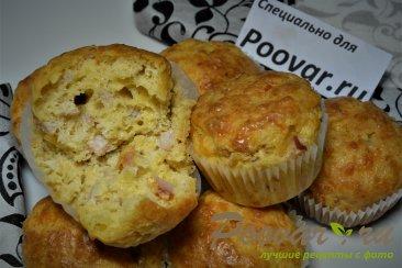 Сырные кексы с пастромой Шаг 10 (картинка)