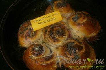 Пирог из розочек со смородиной Шаг 10 (картинка)