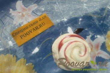 Пирог из розочек со смородиной Шаг 7 (картинка)