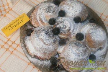 Пирог из розочек со смородиной Шаг 11 (картинка)