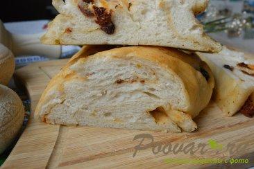 Хлеб-багет с вялеными помидорами и маслинами Шаг 11 (картинка)