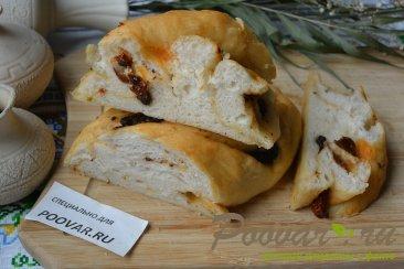 Хлеб-багет с вялеными помидорами и маслинами Шаг 10 (картинка)