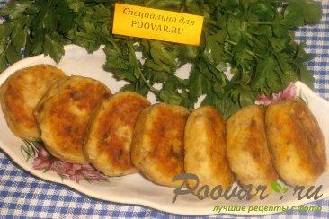 Котлеты из гречки и картофеля Изображение