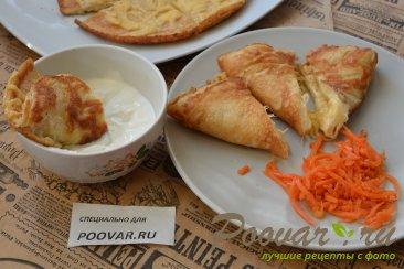 Быстрый завтрак из омлета и сыра за 5 минут Изображение