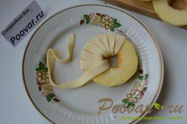 Яблочные колечки в слоеном тесте Шаг 5 (картинка)