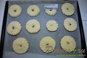 Яблочные колечки в слоеном тесте Шаг 6 (картинка)