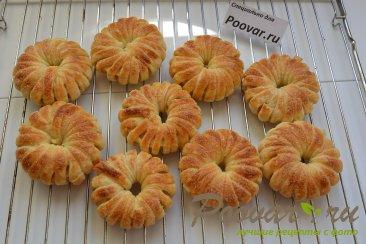 Яблочные колечки в слоеном тесте Шаг 8 (картинка)