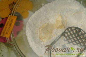 Печенье крекер с кунжутом Шаг 1 (картинка)
