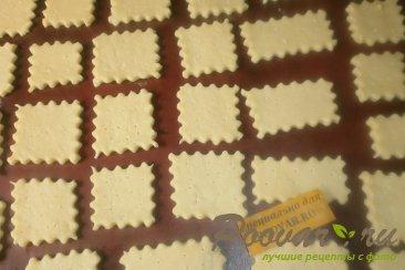 Печенье крекер с кунжутом Шаг 6 (картинка)
