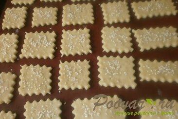 Печенье крекер с кунжутом Шаг 7 (картинка)
