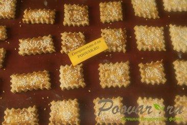 Печенье крекер с кунжутом Шаг 8 (картинка)
