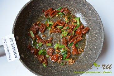 Паста с вялеными помидорами и сыром Шаг 4 (картинка)